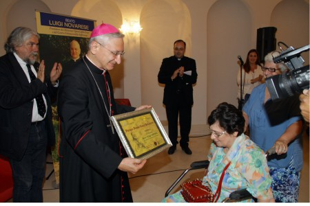 Il Premio Novarese a mons. Filippo Santoro