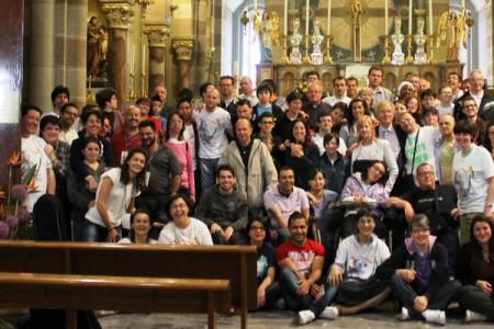 I giovani del CVS al Centenario del Beato Novarese