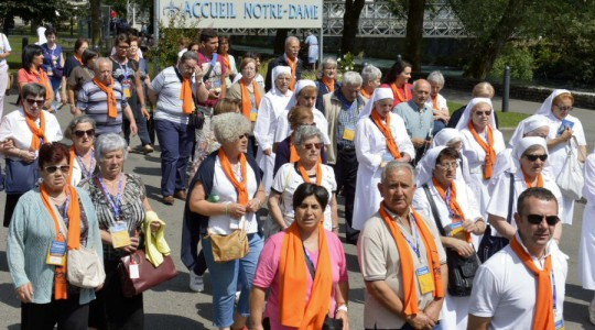 63° Pellegrinaggio a Lourdes. Grazie!