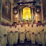 Gli ex allievi del Seminario Minore di Vercelli