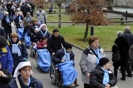 Il Pellegrinaggio di Pasqua a Lourdes è iniziato
