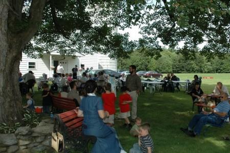 The Annual Mary Farm picnic