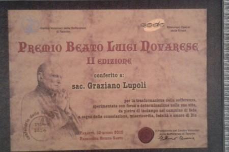 Seconda edizione del Premio Novarese