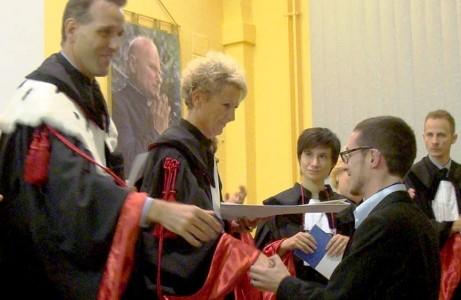 "Tesi di Laurea alla casa di cura ""Mons. Luigi Novarese"