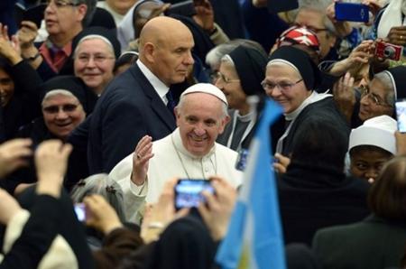 Papa Francesco al Giubileo della vita consacrata