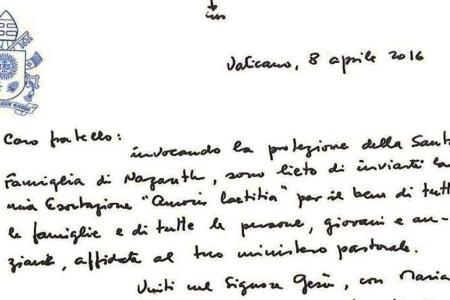 Amoris Laetitia. La nuova esortazione apostolica di papa Francesco