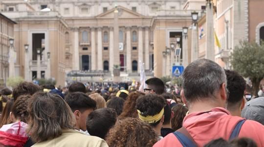 Circa 15 milioni di pellegrini a Roma
