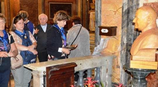 Dalla crociera in visita al beato Novarese