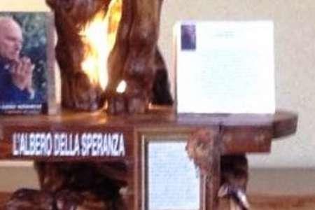 Monsignore all'Hospice di Casale Monferrato