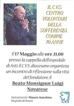 Locandina Asti CVS 70 anni