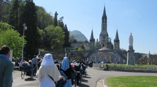 Pellegrinaggio del CVS di Brescia a Lourdes