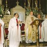 28. 1983 don pietro concelebra a Cristo Re