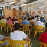 Delegati alla Commemorazione di C. Pavan