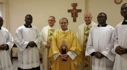 Nuove ammissioni all'Ordine Sacro