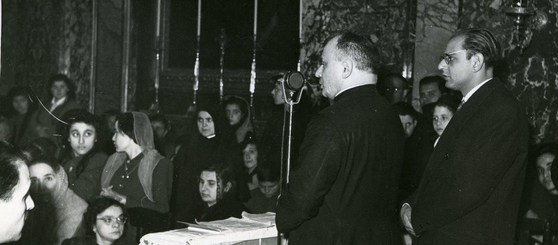 Il beato Luigi Novarese e Giovanni Gigliozzi
