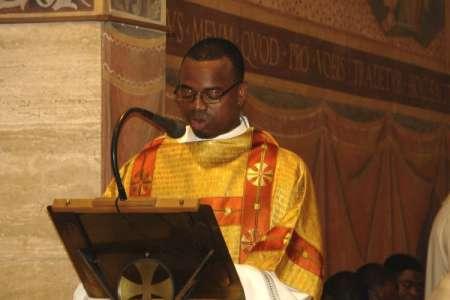 Tyerry Aime Tomo, sacerdote SOdC