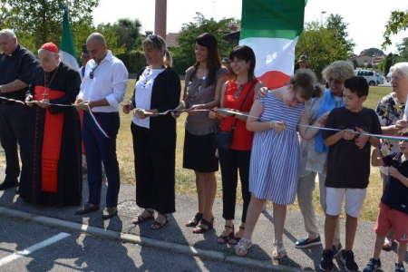 Intitolazione di un parco al beato Luigi Novarese
