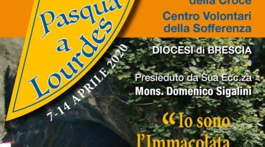 Pasqua a Lourdes col CVS di Brescia