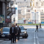 Papa per strada