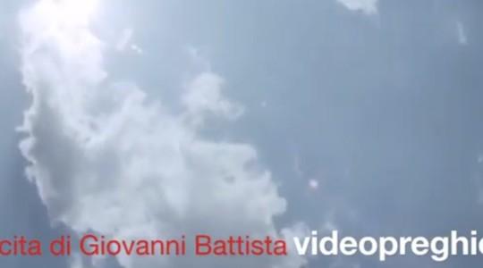 Videopreghiera: san Giovanni Battista