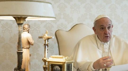 Settimana santa. Il pensiero del Papa a chi soffre