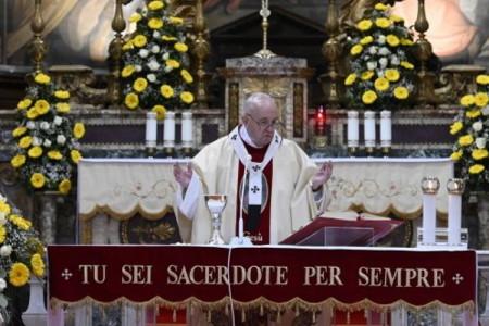 Francesco: la preghiera dei giusti