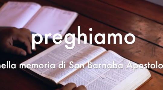 Videopreghiera su san Barnaba