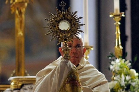 Solennità del Corpus Domini con papa Francesco