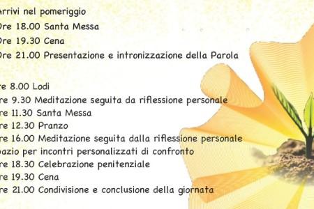 Due corsi di Esercizi spirituali a Montichiari (Bs)
