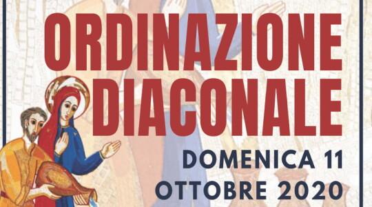 Ordinazione diaconale per Apollinaire, Norbert e Woitek