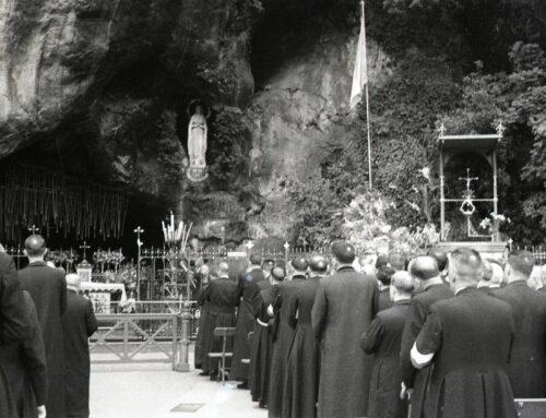 18-24 giugno 1952. Primo pellegrinaggio della Lega Sacerdotale Mariana