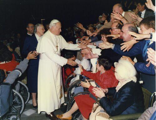 Discorso di Giovanni Paolo II al Centro Volontari della Sofferenza, in occasione del 40mo anniversario di apostolato, Città del Vaticano, 23 maggio 1987